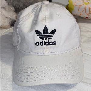 Adidas White Baseball Cap